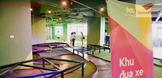Dự án lát sàn nhựa vinyl cao cấp tổ hợp khu vui chơi giải trí Doo số 1 Lương Yên