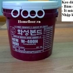 Keo dán sàn W400H